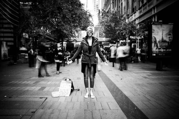 Haoming Wang - Pitt Street Free Hug | blinq.art