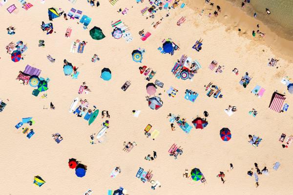 Seb Ruiz - Shelley Beach Sunbathers | blinq.art