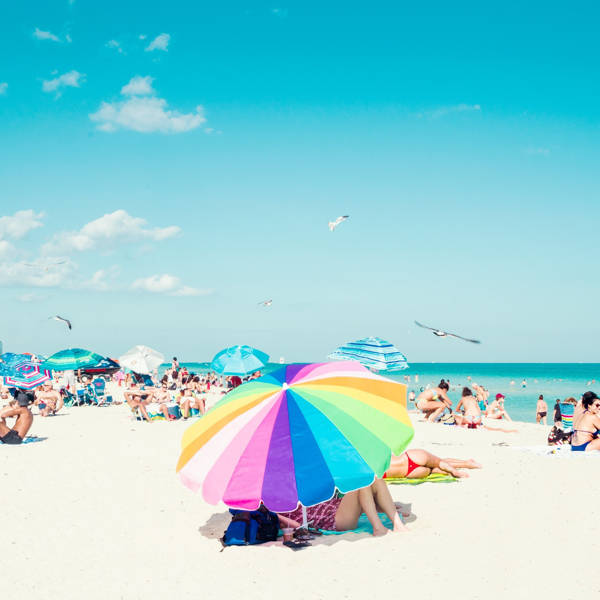 David Behar - Rainbow Umbrella | blinq.art