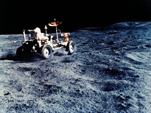 NASA - Lunar Roving Vehicle - Apollo 16 | blinq.art