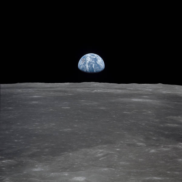 NASA - Apollo 11 Earth on the Horizon | blinq.art