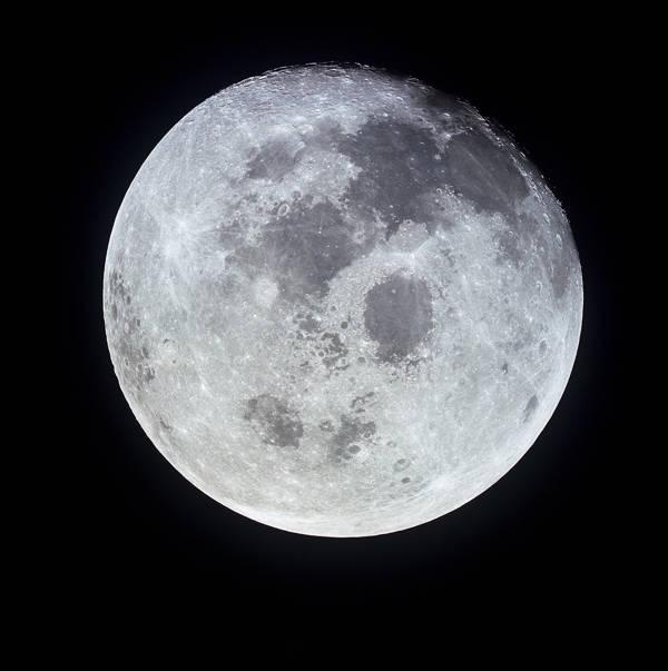 NASA - Full Moon from Apollo 11 | blinq.art