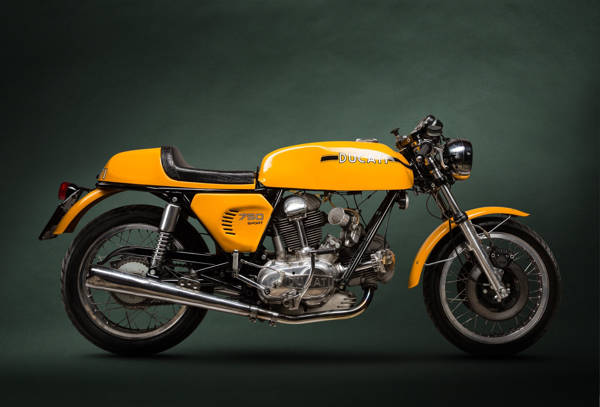 Paul Clifton - Ducati 750 | blinq.art