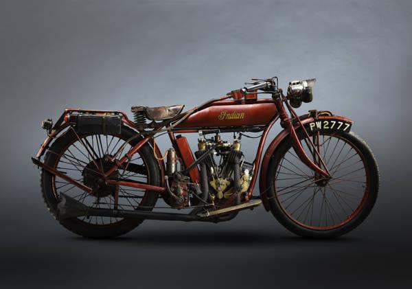 Paul Clifton - Indian V Twin 1915 | blinq.art