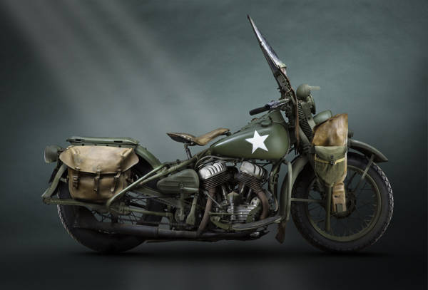 Paul Clifton - Harley Davidson Wla 1942 | blinq.art