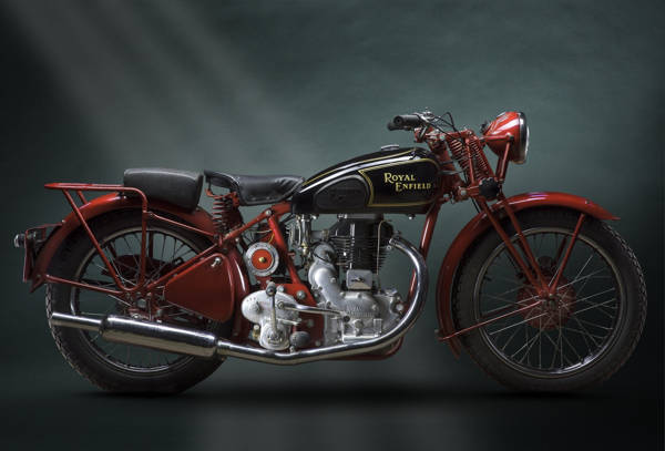 Paul Clifton - Royal Enfield 1938 | blinq.art