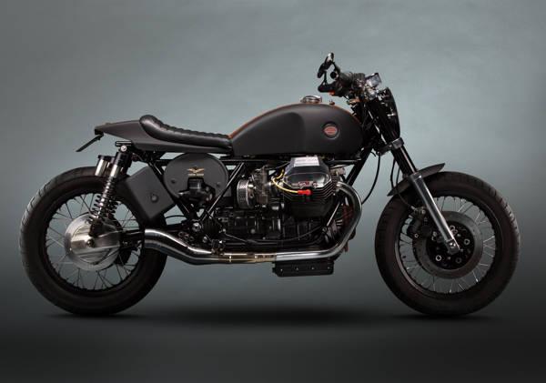Paul Clifton - Moto Guzzi California Custom | blinq.art