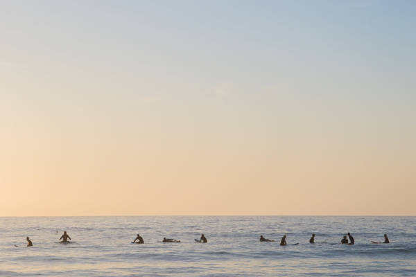 Amaury Treguer - Sunrise Surf at its Best | blinq.art