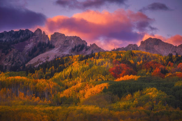 Peter Coskun - Kebler Sunset | blinq.art