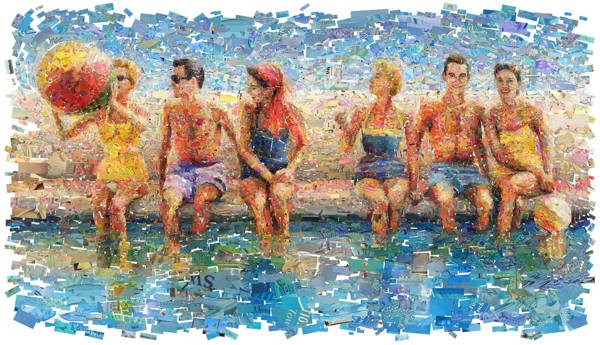 Charis Tsevis - By the Pool | blinq.art