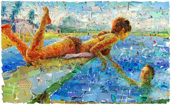 Charis Tsevis - Pool Look IV | blinq.art
