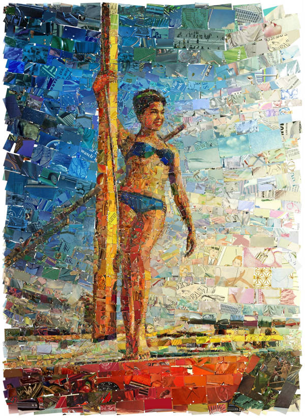 Charis Tsevis - Sailing Lady | blinq.art
