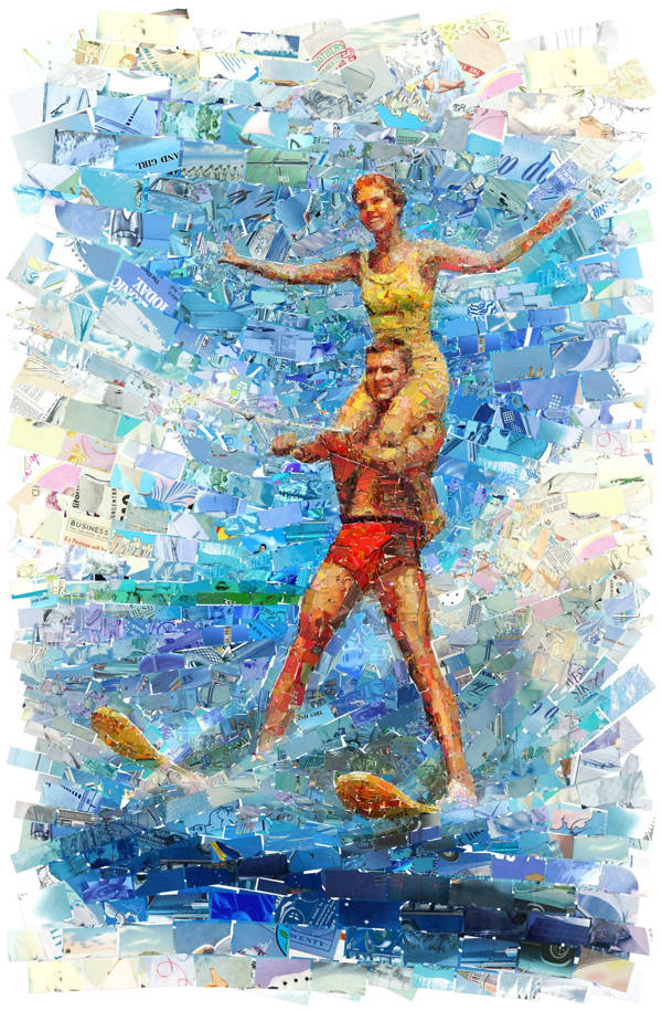 Charis Tsevis - Water Ski Couple | blinq.art