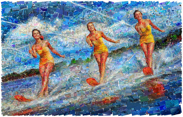 Charis Tsevis - Water Ski | blinq.art
