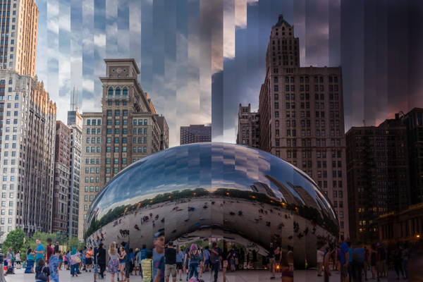 Richard Silver - The Bean Chicago Sliced | blinq.art