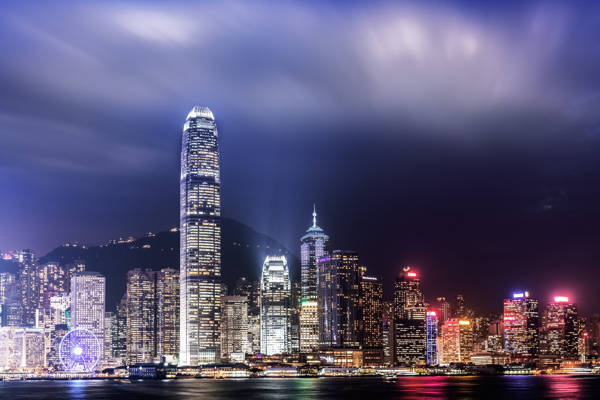 Ludwig Favre - Hong Kong Skyline | blinq.art