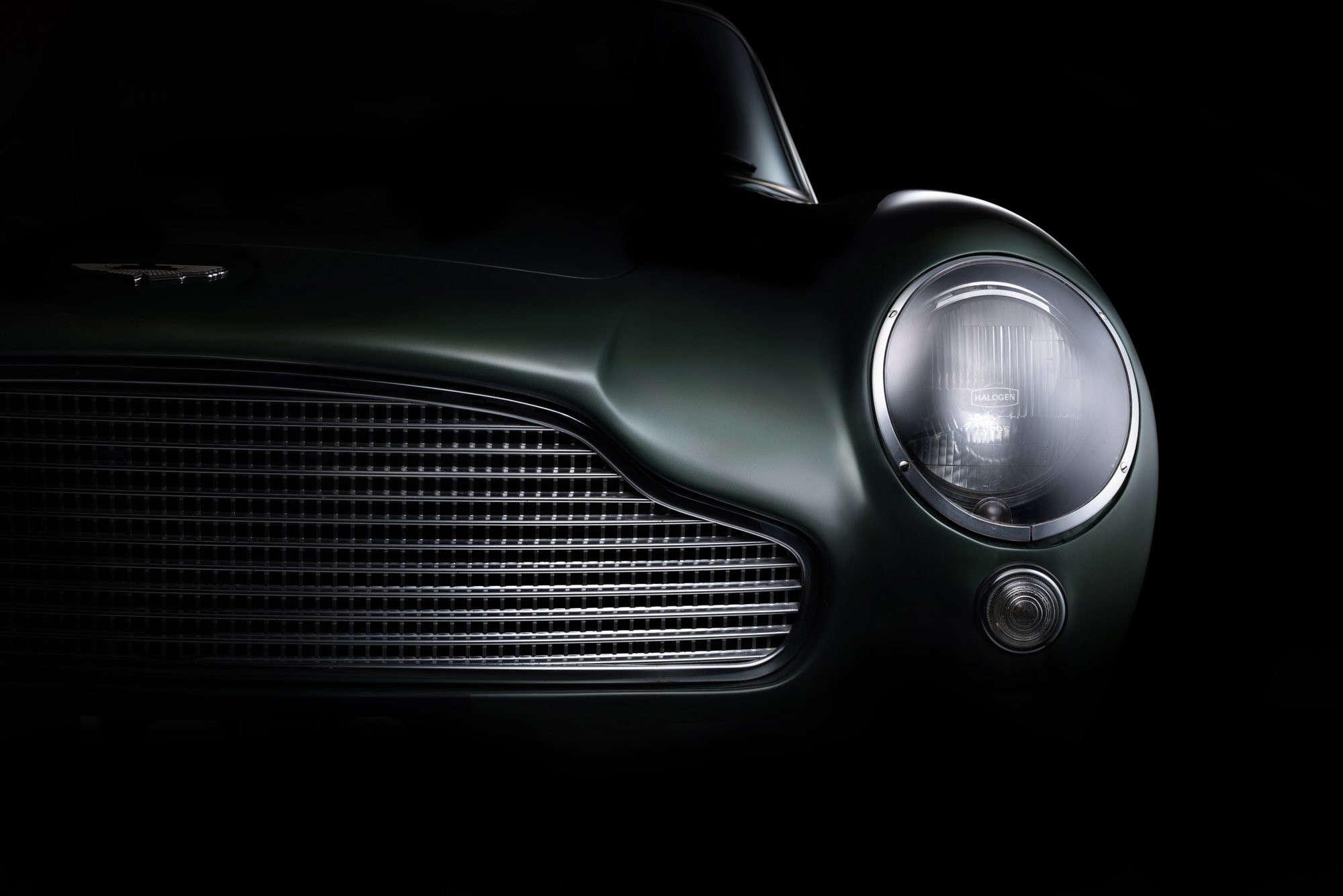 Sarel Van Staden Aston Martin DB GT Headlight - Aston martin headlights