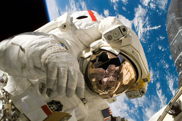 NASA - Discovery Astronaut in Space | blinq.art