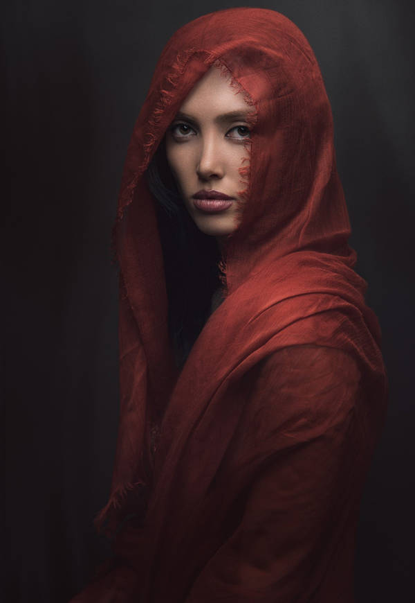 Mohammadreza Rezania - Lady in Red | blinq.art