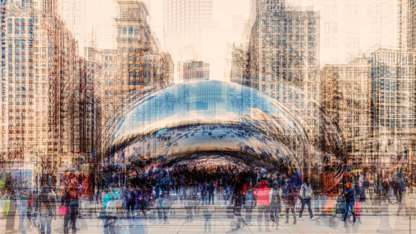 Laurent Dequick - Chicago Cloud Gate
