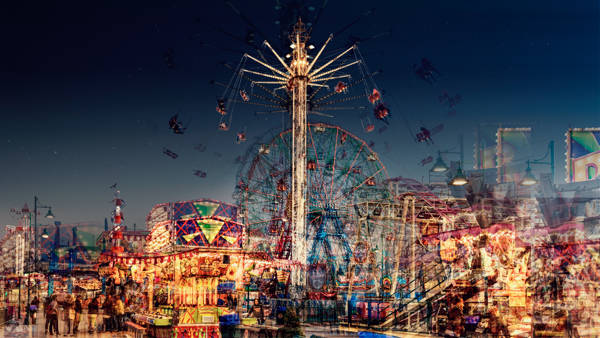 Laurent Dequick - Coney Island Luna Park
