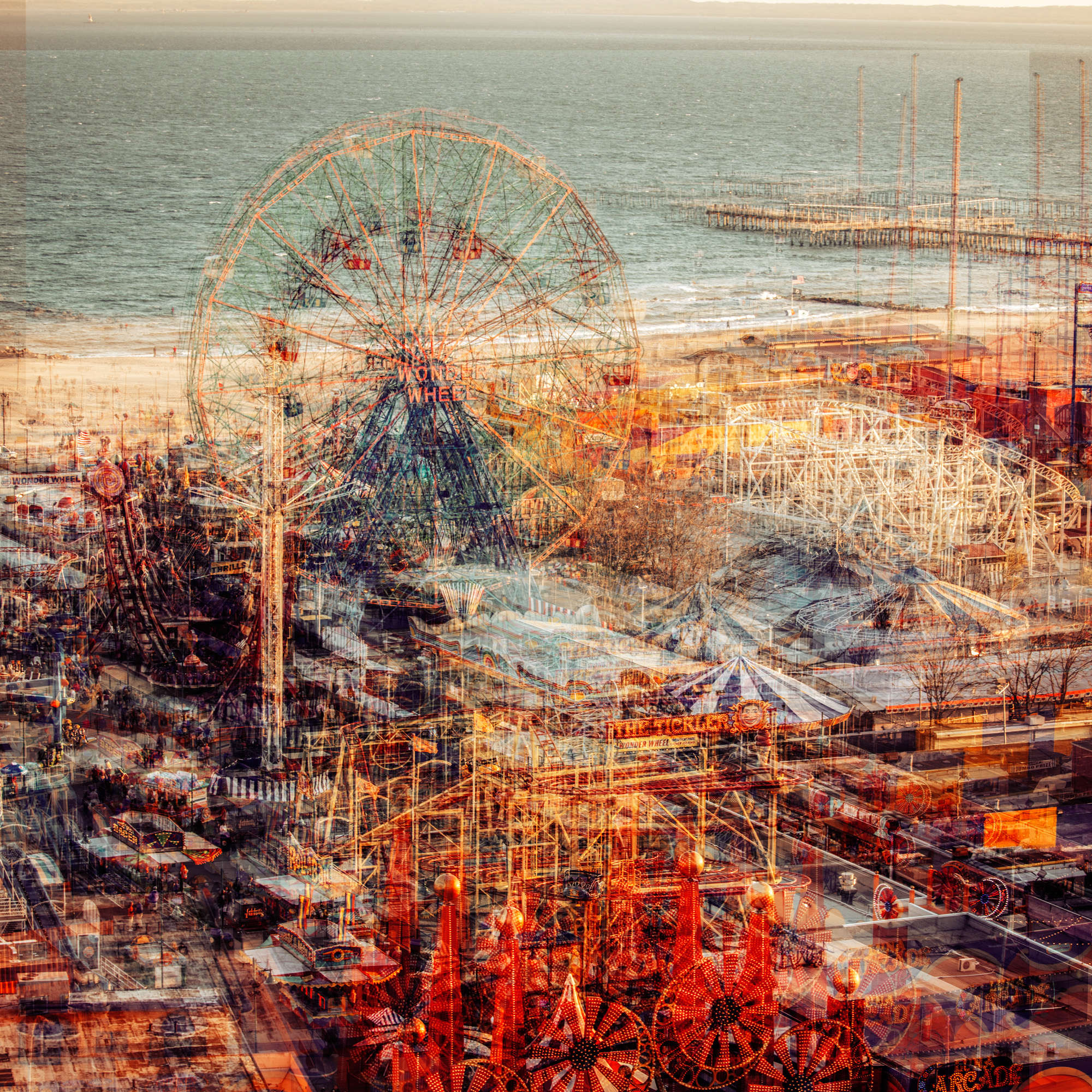 Laurent Dequick - Coney Island Playground