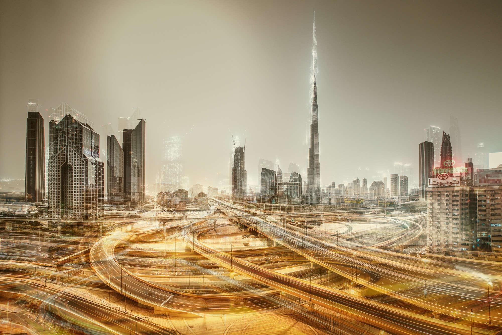 Laurent Dequick - Dubai Sheikh Zayed Road