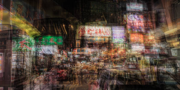 Laurent Dequick - Kowloon at Night