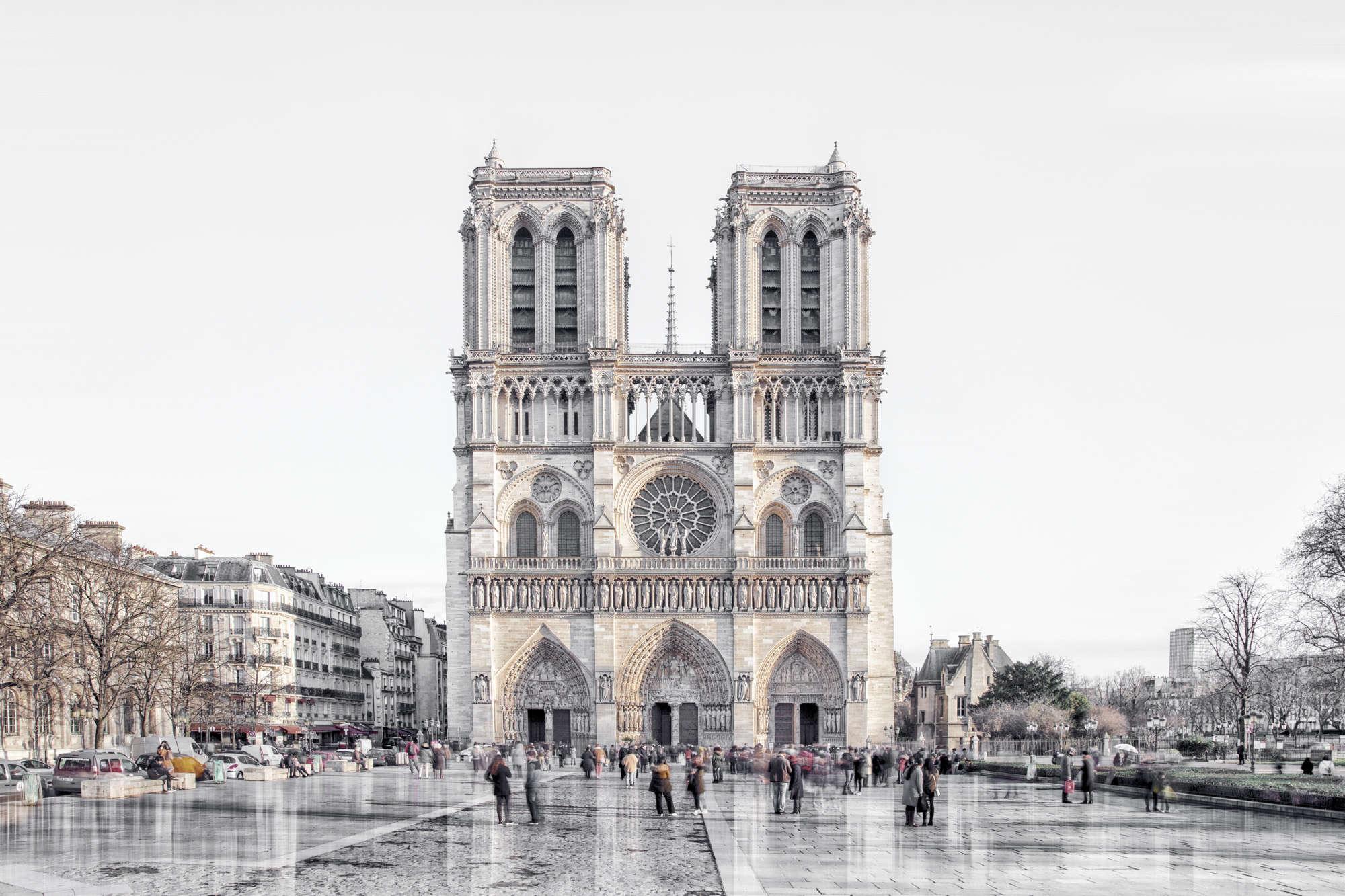 Laurent Dequick - Parvis Notre Dame