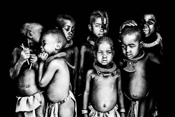 Ben Moore - Himba Boys