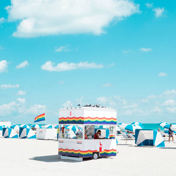 David Behar - Rainbow Cabana | blinq.art