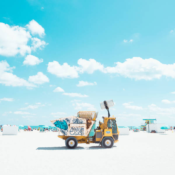 David Behar - South Beach Trash | blinq.art