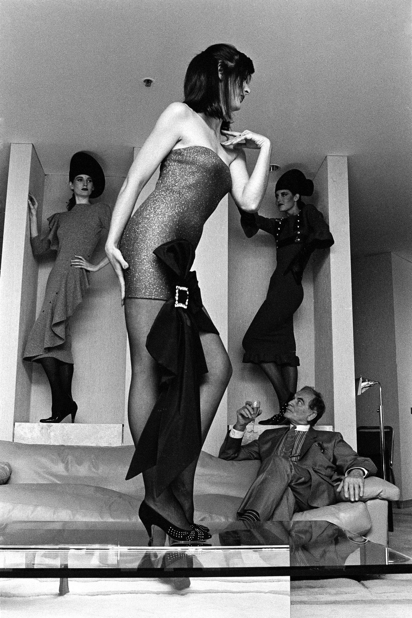 Neil Duncan - Cardin and model 1975