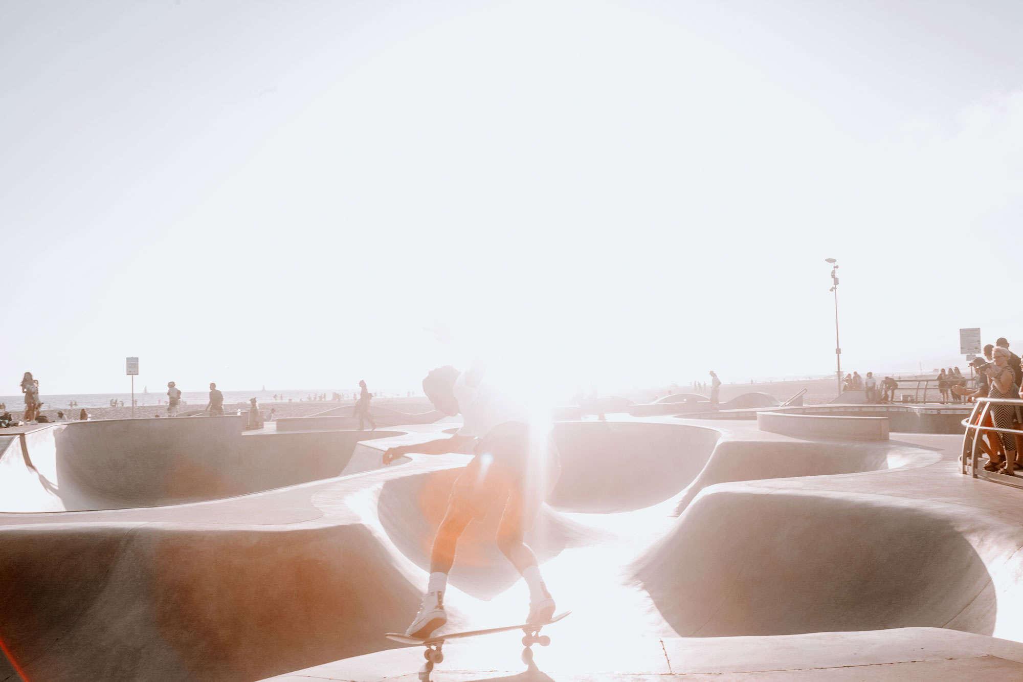 Camilla Quiddington - Sunset Skater