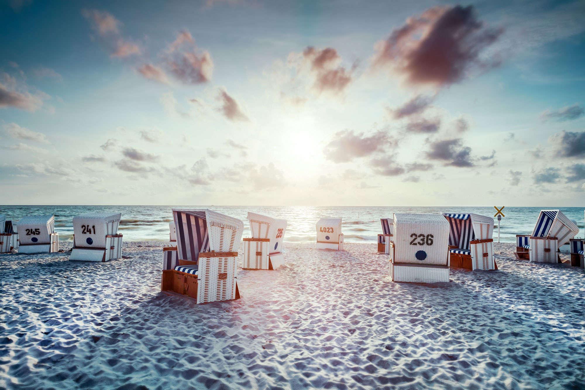 Jörg Wanderer - Beach Sunset
