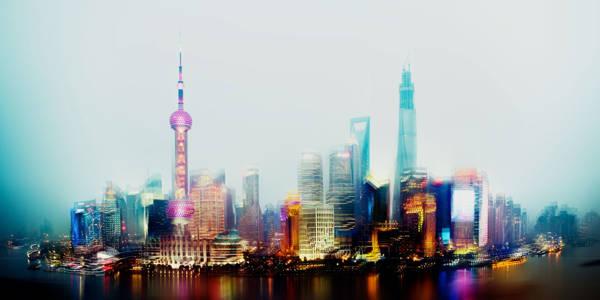 Jorg Wanderer - Shanghai Skyline I