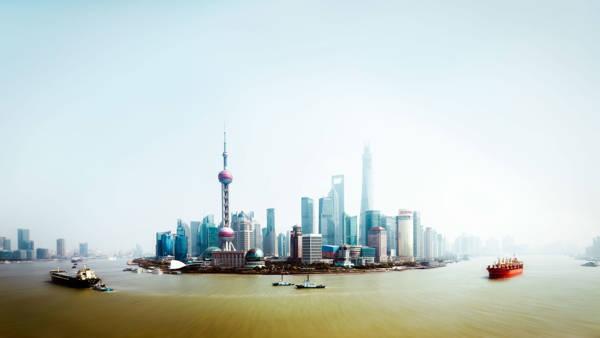 Jorg Wanderer - Shanghai Skyline II