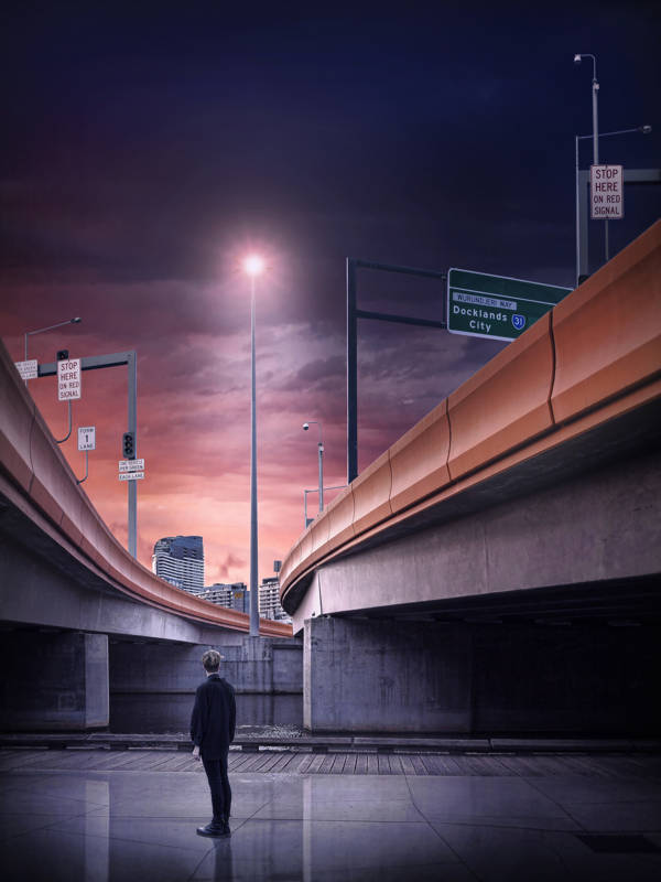 Adrian Donoghue - Freeway Sunsets