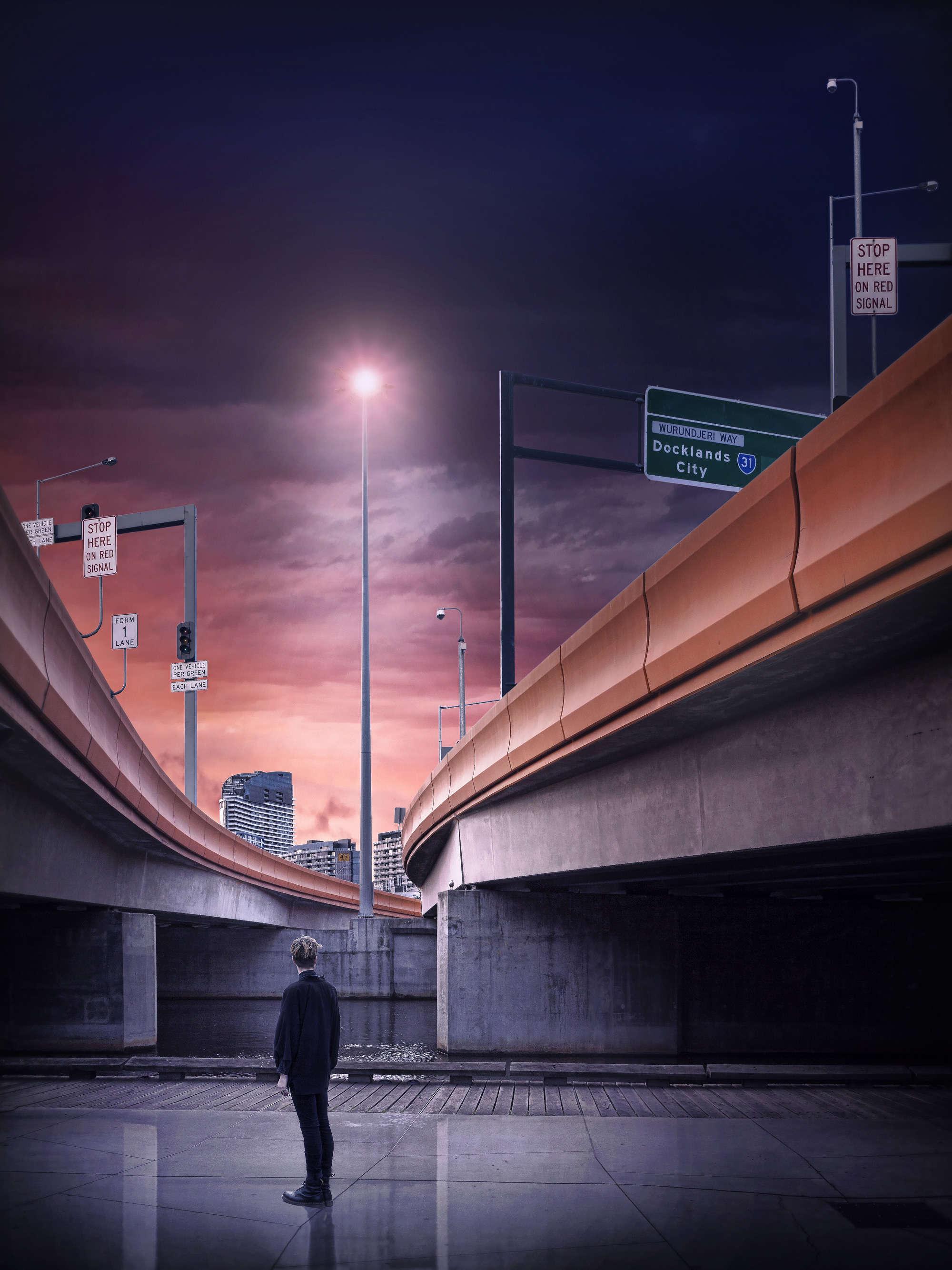Adrian Donoghue - Freeway Sunsets