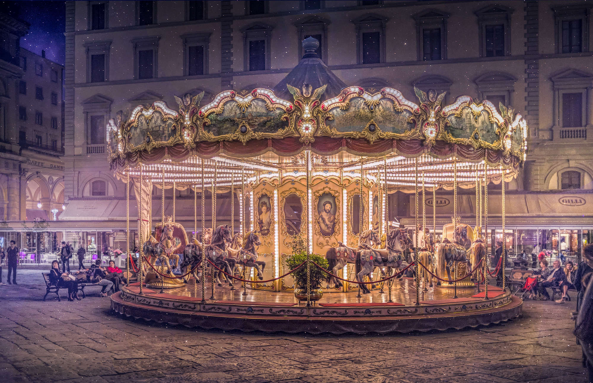 Christian Marcel - Florence Christmas Carousel