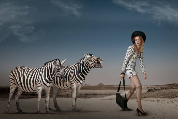 Christine von Diepenbroek - Zebra Stripes and Polka Dots