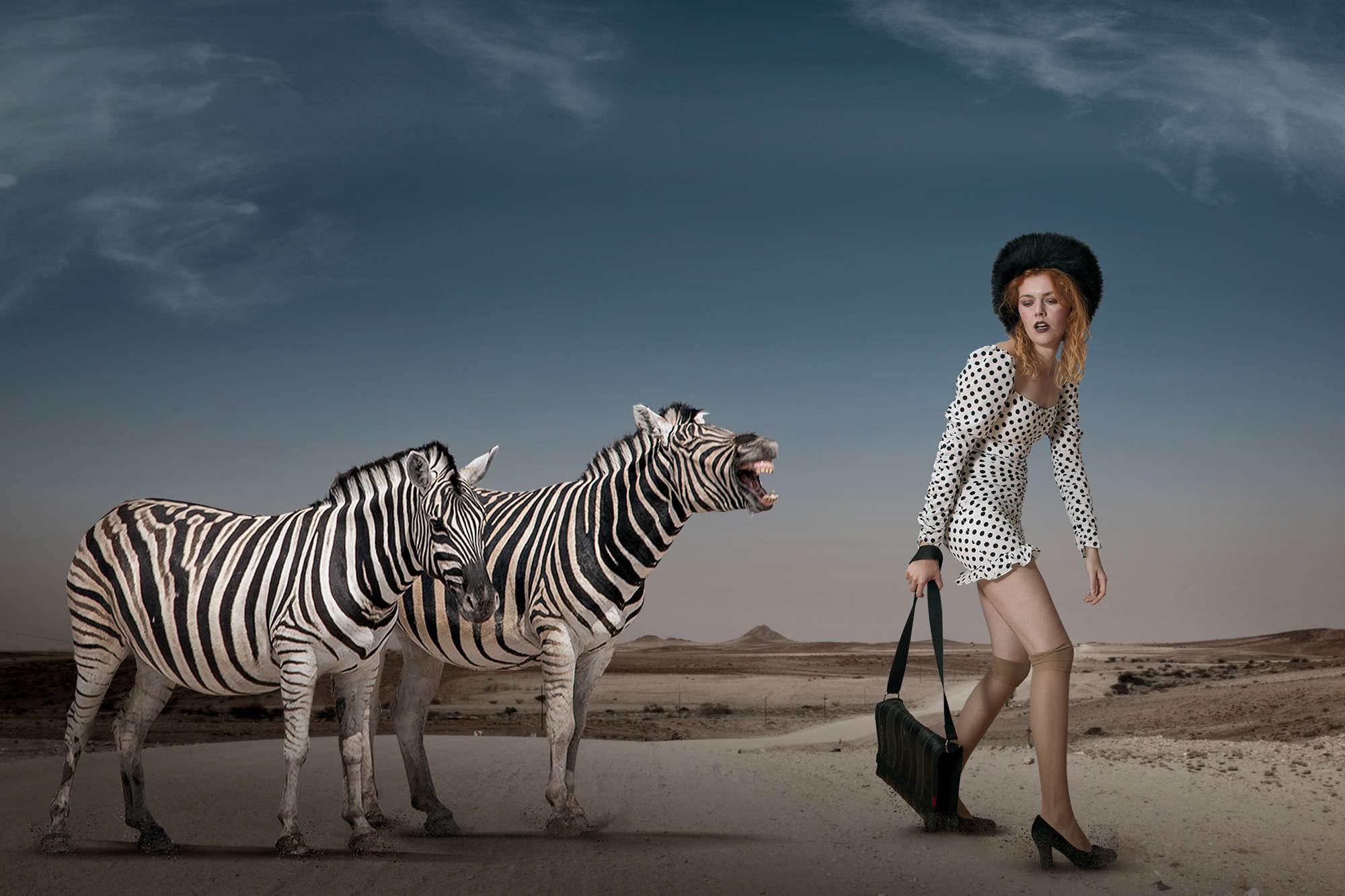 Christine von Diepenbroek - Zebra Stripes and Polka Dots