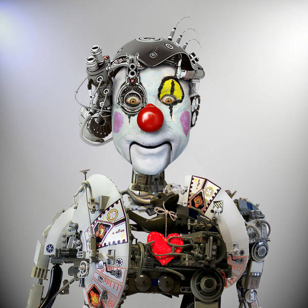 DDiArte - Electronic Clown | blinq.art