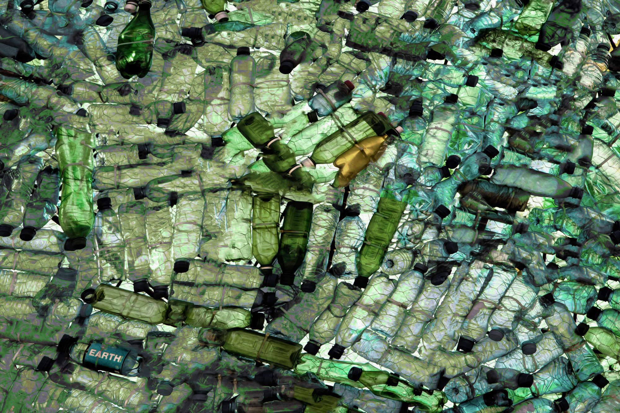 Gilbert Claes - Sea of Bottles