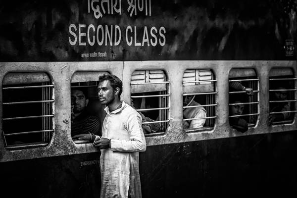Pavol Stranak - New Delhi Train Station