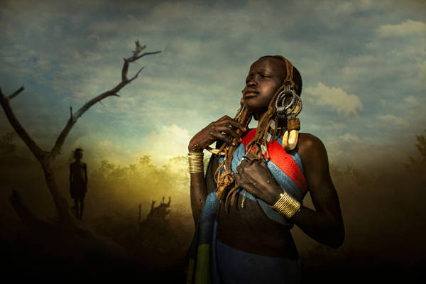Svetlin Yosifov - Mursi Tribe Woman | blinq.art