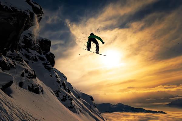 Jakob Sanne - Air and Snow | blinq.art