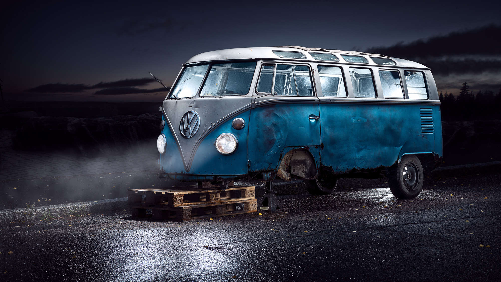 Petri Damstén - Abandoned Volkswagen