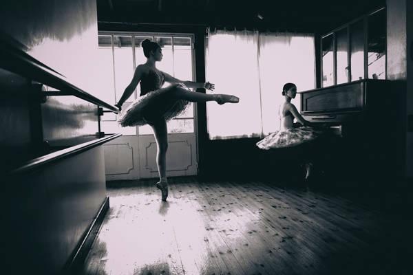 David Minster - Ballet Rehearsals