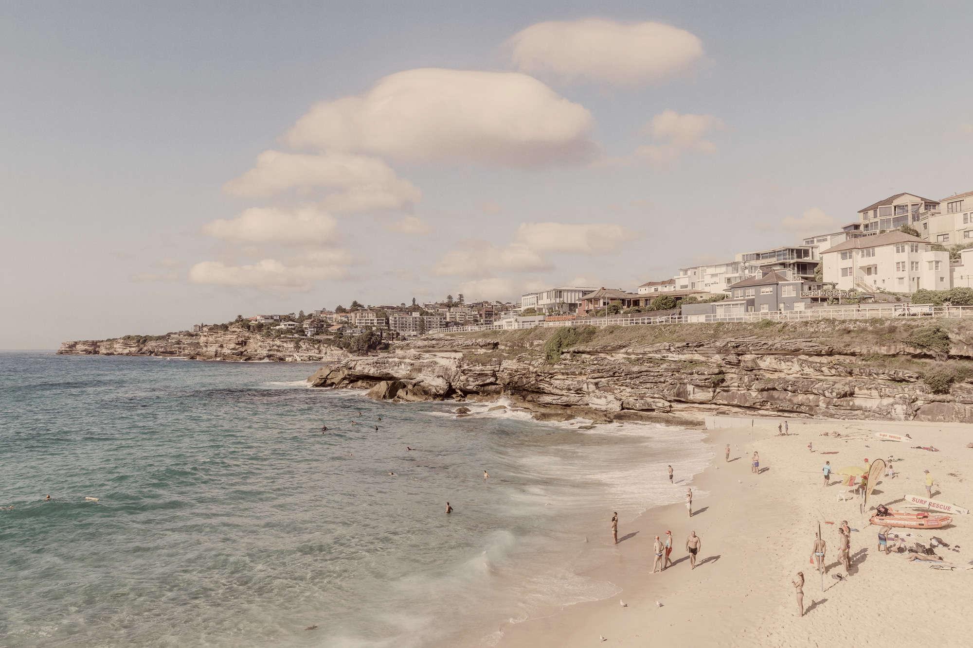 Richard Silver - Bronte Beach Kodak